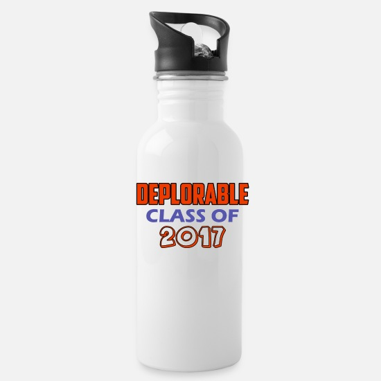 Army Mugs & Drinkware - class of 2017 - Water Bottle white