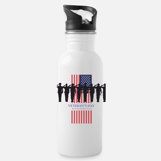 Us Army Mugs & Drinkware - Us Army - Water Bottle white