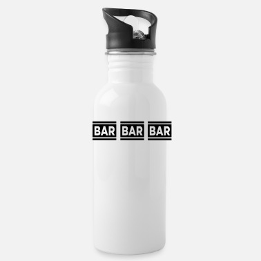 Bar Bar Bar Bar VECTOR - Water Bottle