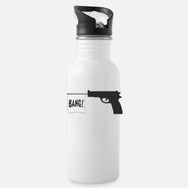 Pistol pistol - Water Bottle