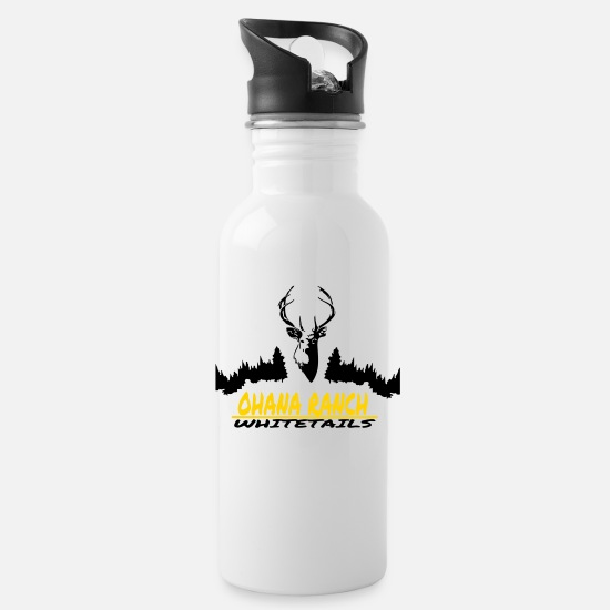 Ranch Mugs & Drinkware - OHANA RANCH - Water Bottle white