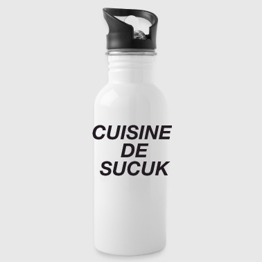 Cuisine De Sucuk T-Shirt - Water Bottle