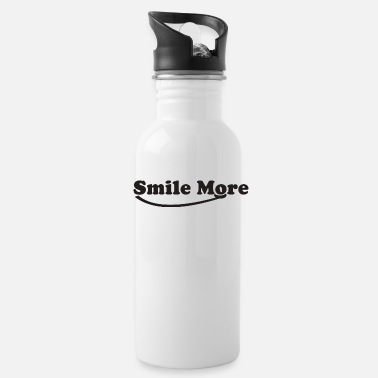 Smile More Smile more - Water Bottle