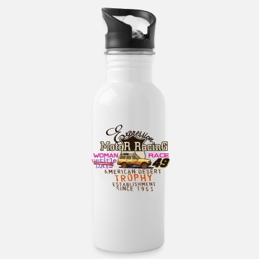 Motor Race motor racing - Water Bottle