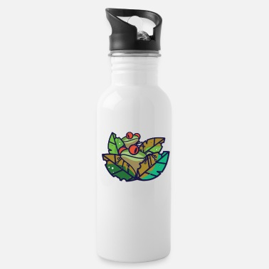 Tree Frog Frog - Tree Frog - Frog King - Frog Prince - Quack - Water Bottle