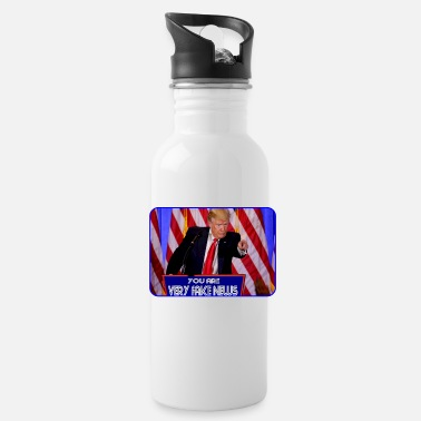 Breitbart You are very fake news - Water Bottle