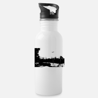 Stadium stadium in the mountain - Water Bottle