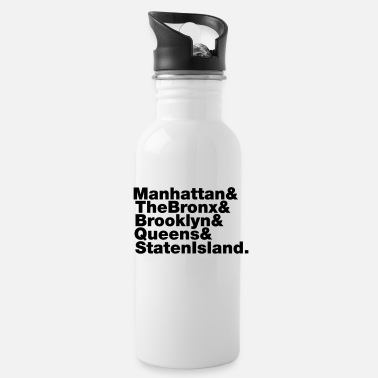 5 Boroughs 5 Boroughs ~ New York City - Water Bottle