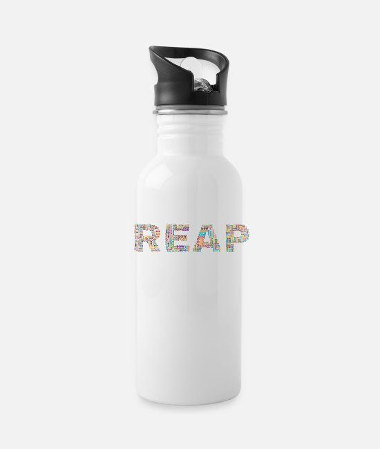 Stand Mugs & Cups - Reap Sow - Water Bottle white