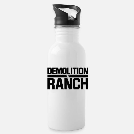 Ranch Mugs & Drinkware - Demolition ranch - Water Bottle white