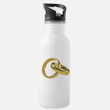 Wedding Ring Wedding Rings - Water Bottle