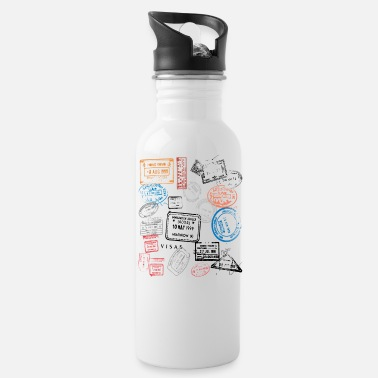 Stamp Stamps - Water Bottle