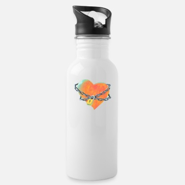 Chained Heart - Water Bottle
