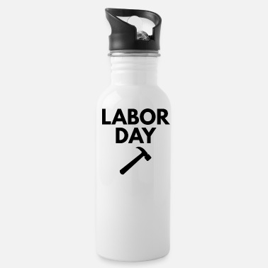 Labor labor day - Water Bottle