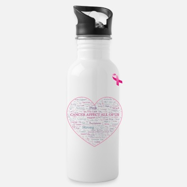Cancer Affects all of us - Water Bottle