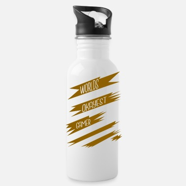 Game Over videogames arcade present birthday - Water Bottle