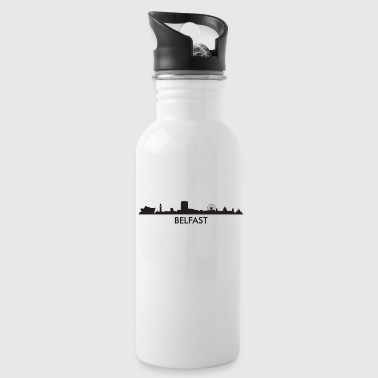 Belfast Northern Ireland Skyline - Water Bottle