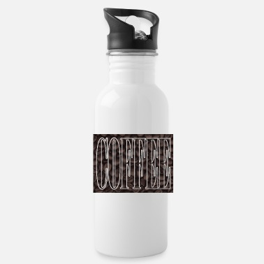 Bean Coffee Beans Poster - Water Bottle