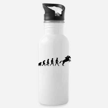 Equitation Evolution Horses Riding Harness Racing Equitation - Water Bottle