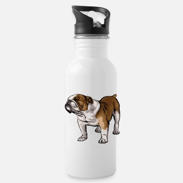 Bulldog bulldog - Water Bottle