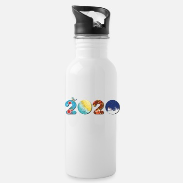 New Year New Year 2020 - Happy new year 2020 - new year - Water Bottle