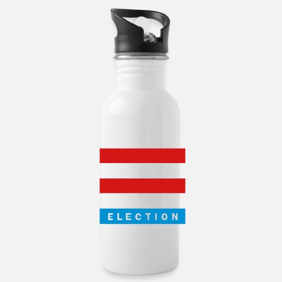 Politics Mugs & Drinkware - Election - Water Bottle white