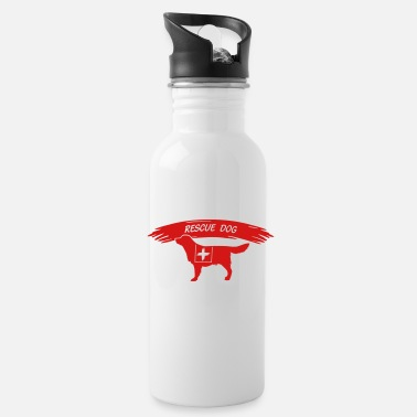 Search Dog Rescue Dog search dog - Water Bottle