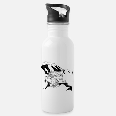 holidays in the mountains - Water Bottle