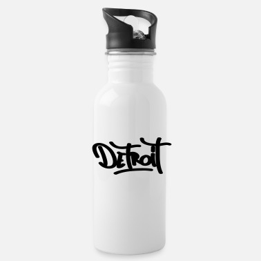 Detroit detroit - Water Bottle