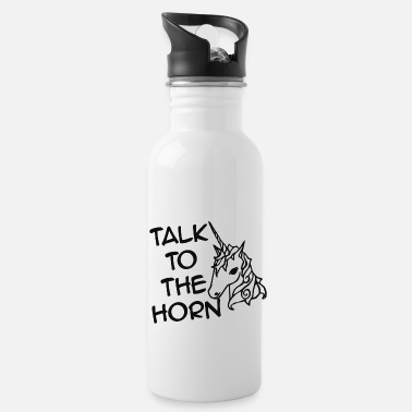 Talk To The Horn - Water Bottle