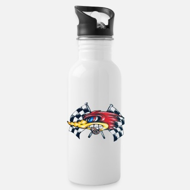 Furious Roadrunner left side - Water Bottle