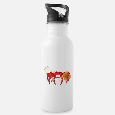 Toast Toast crab - Water Bottle