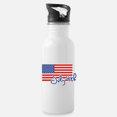 4th July 4th - Water Bottle