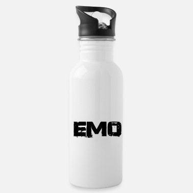 Sad emo - Water Bottle