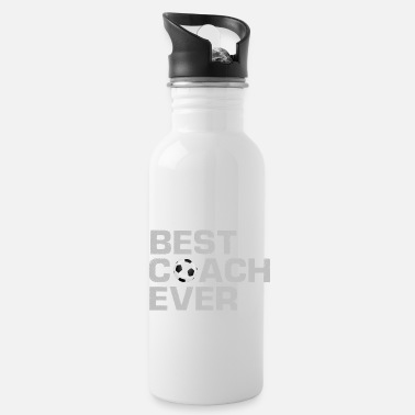 Coach Best Coach Ever - Soccer - Trainer - Water Bottle