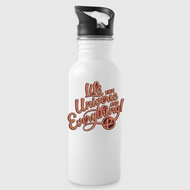 life the universe - Water Bottle