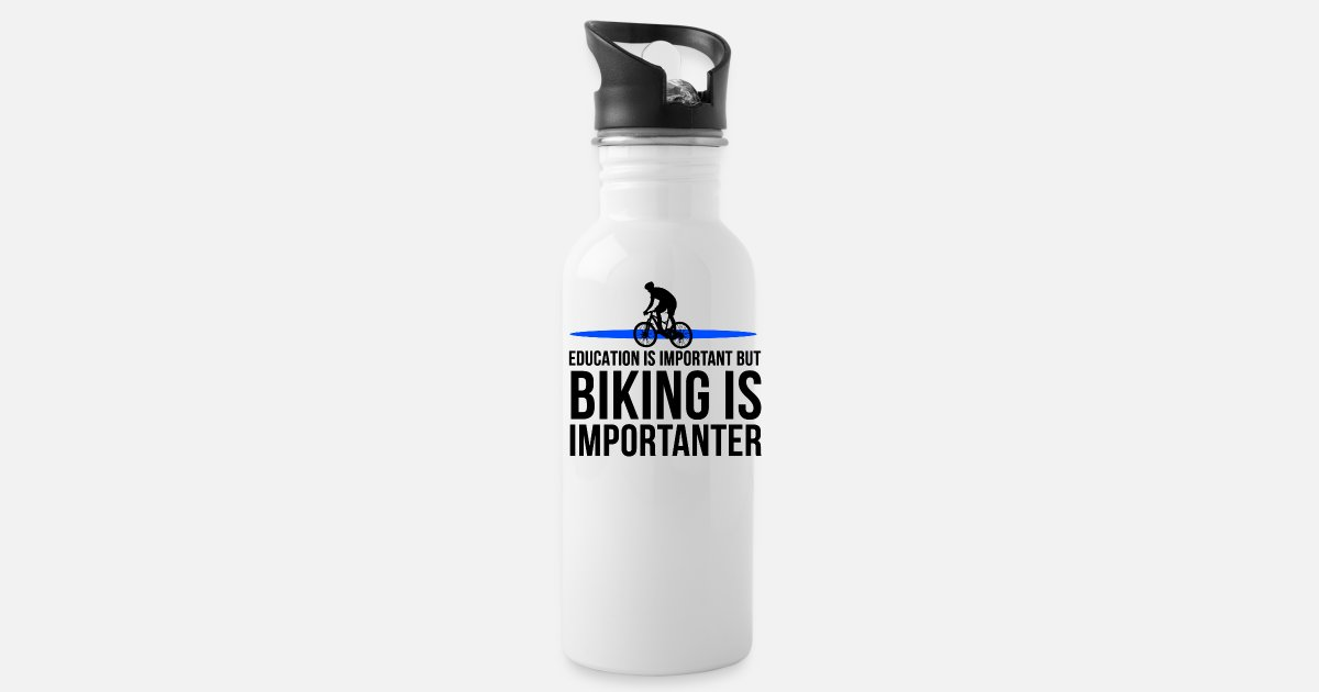 Education is Important But BMX Bike Jumping is Importanter Mens Tee Shirt Pick