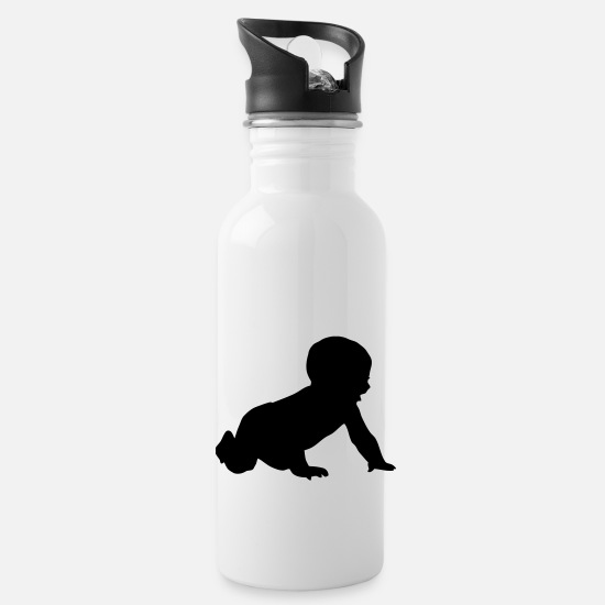 Baby Bump Mugs & Drinkware - Baby - Water Bottle white