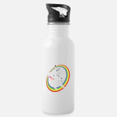 Narwhal Rainbow Stormtrooper Narwhal Rainbow Stormtrooper - Water Bottle
