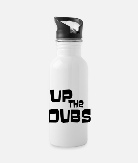 Up The Dubs Mugs & Cups - UP THE DUBS - Water Bottle white