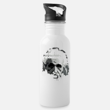 Einstein Quote Einstein Quote - Water Bottle