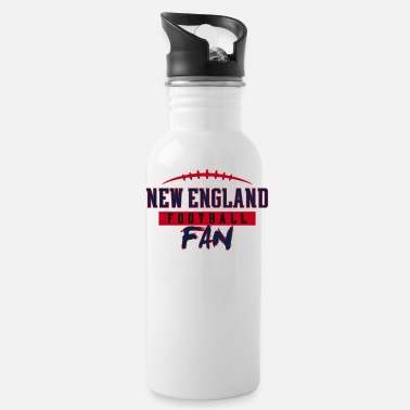 Fan New England Football Fan - Water Bottle