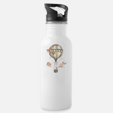 Fisher Skyfisher, Sky Fisher, Funny Fisher - Water Bottle