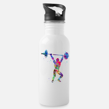 Weightlifting Weightlifting,Weightlifter - Water Bottle