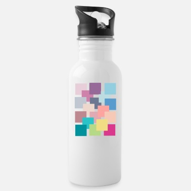 colourful - Water Bottle