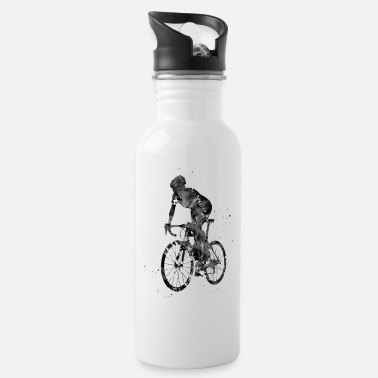 Sprinting Cyclist sprinting - Water Bottle