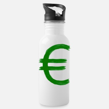 Wealthy Money euro - Water Bottle