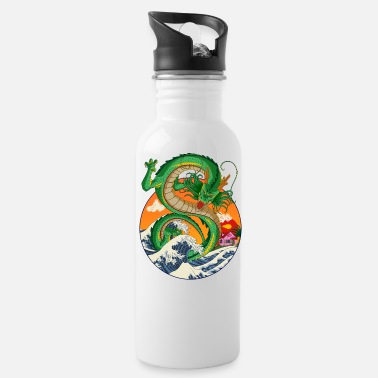 Ball dragonball shenron - Water Bottle