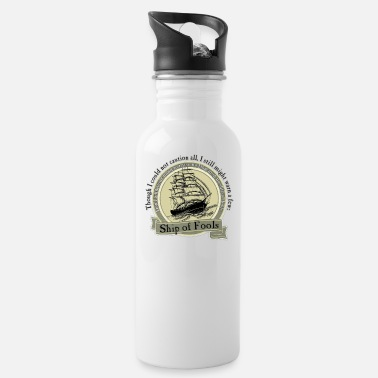 The Grateful Dead Ship of Fools - Grateful Dead Lyric - Water Bottle