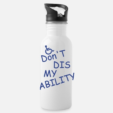 Disse don t diss my ability - Water Bottle